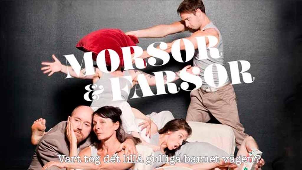 Morsor och Farsor - en produktion om hur det kan vara med tonåringar hemma.